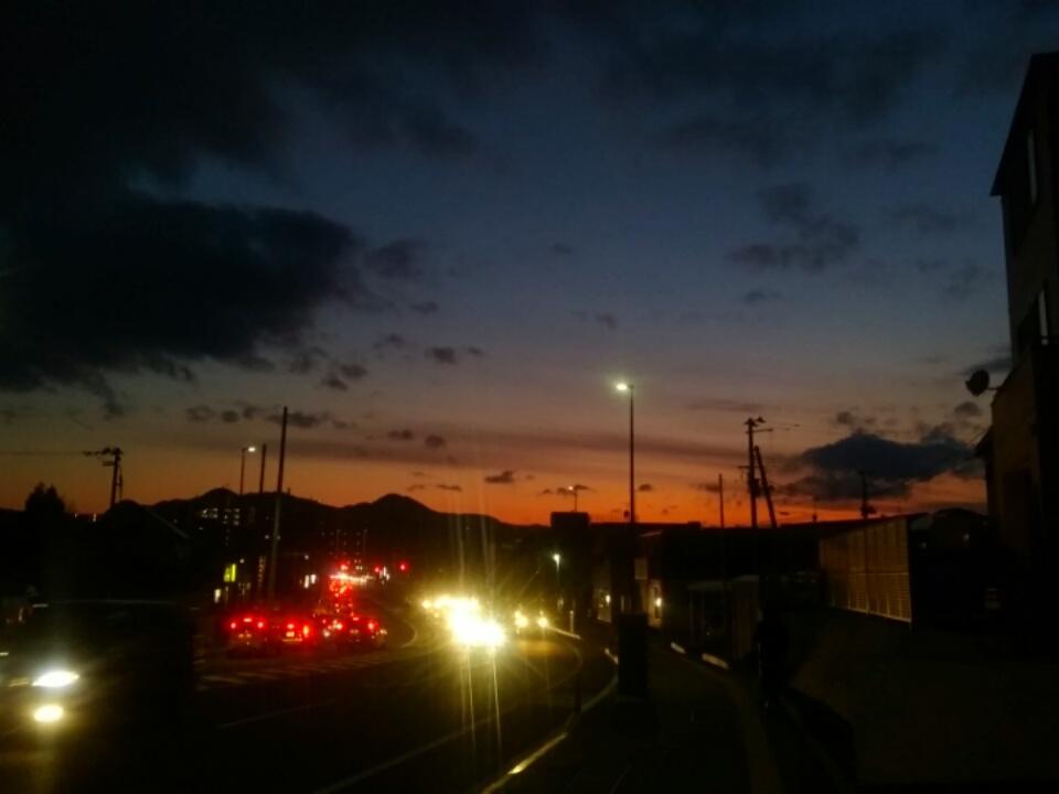 冬の夕焼け_f0326895_22052921.jpg