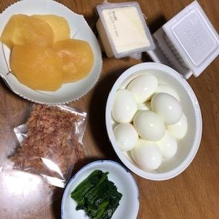 雪の朝ご飯は簡単に☃_f0170713_16144976.jpg