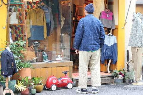 """「orSlow」 \""""40\'s COVERALL\"""" ご紹介_f0191324_07363505.jpg"""