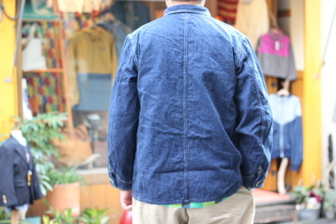 """「orSlow」 \""""40\'s COVERALL\"""" ご紹介_f0191324_07370023.jpg"""