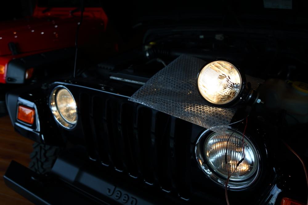 TJへ 外付けヘッドライト加工_f0105425_18562176.jpg