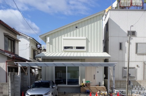 広島のウッドステーション、エコテクノルーフ採用現場を見学しました_d0004728_16120152.jpg