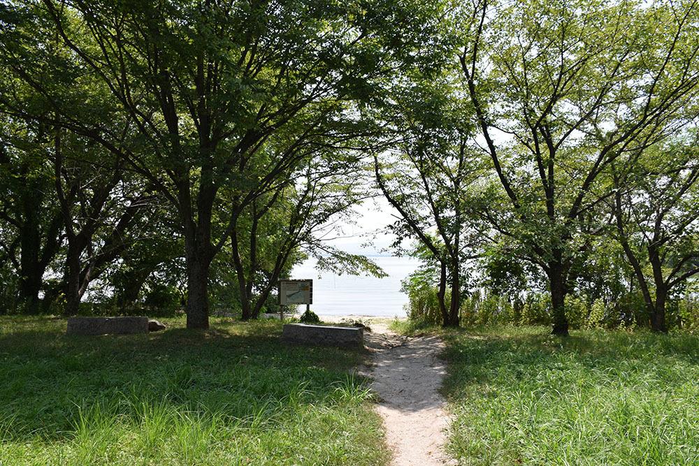 近江坂本城跡を歩く。 その1 <坂本城址公園>_e0158128_23101702.jpg