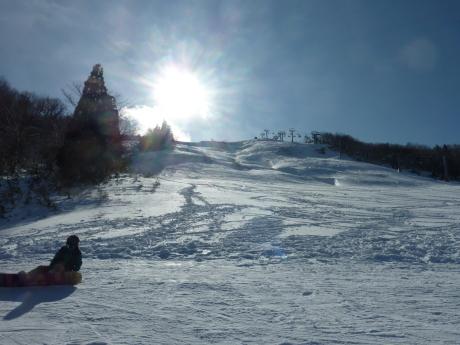 スキーレッスン② ハチ北高原スキー場_c0218841_11001703.jpg