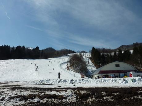 スキーレッスン② ハチ北高原スキー場_c0218841_11022771.jpg