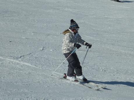 スキーレッスン② ハチ北高原スキー場_c0218841_11040986.jpg