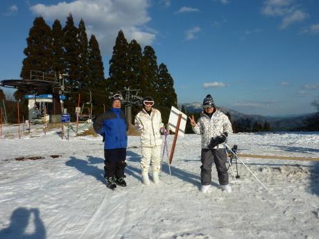 スキーレッスン② ハチ北高原スキー場_c0218841_11060312.jpg