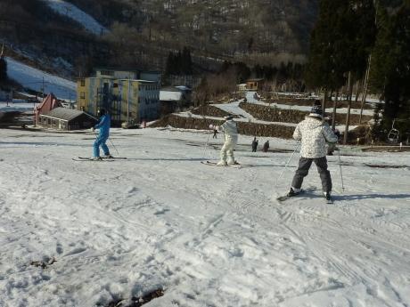 スキーレッスン② ハチ北高原スキー場_c0218841_11093712.jpg