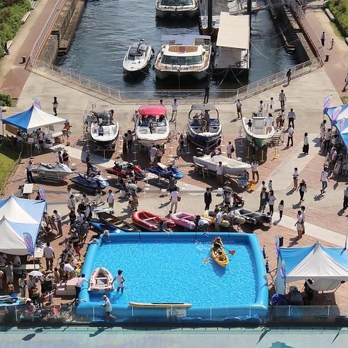 豊洲の「マリンカーニバル」に参加。来週末は若洲と夢の島で体験試乗するよ_c0060143_14365273.jpg