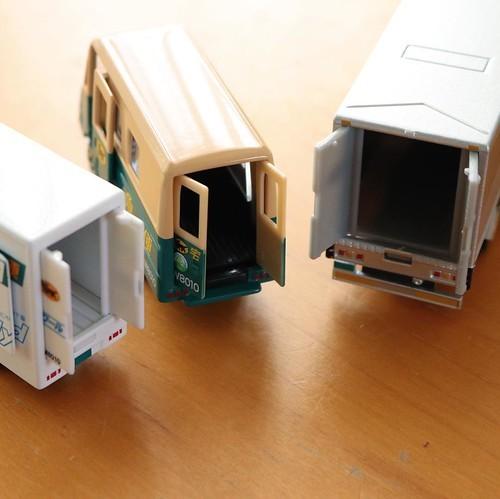 クロネコヤマトのミニカーが3台揃った #クロネコアンバサダー_c0060143_15455644.jpg