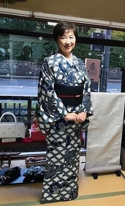 姉妹でご来店のお客様・浦野理一着物・大島紬。_f0181251_19092654.jpg