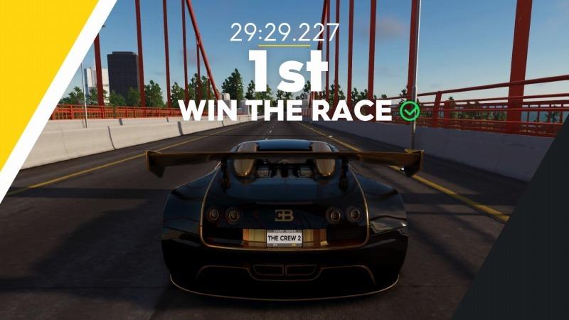 ゲーム「THE CREW2 Veyron Edition One ゲットしてやったぜぇぇぇええ!!!! & New Yorkの記録更新しました」_b0362459_20513602.jpg