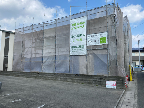 Q1住宅L3徳島北島町断熱、気密施工_e0054299_14474743.jpg