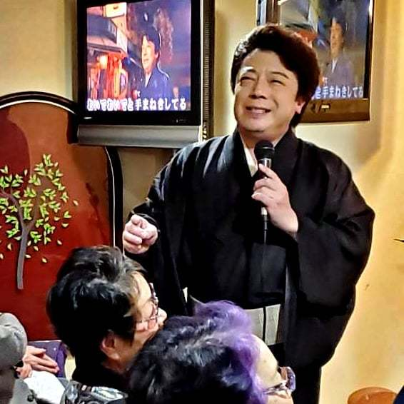 秋岡秀治&赤井銀次「男の名刺ミニライブ」和歌山_b0083801_23520413.jpg