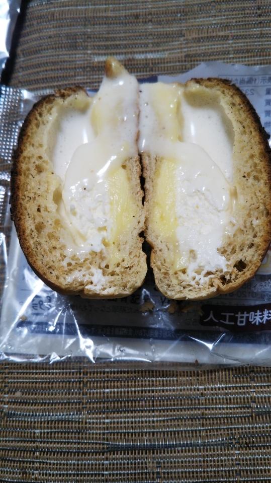 ブランのダブルクリームパン_f0076001_22144998.jpg
