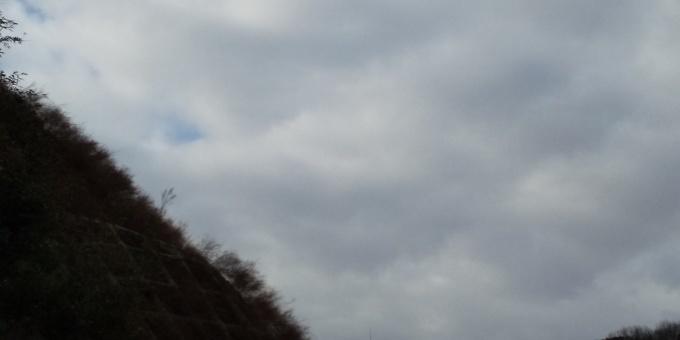 北部でようやく1ー4センチの積雪。_e0094315_09395627.jpg