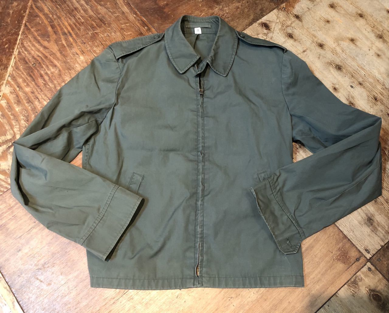 2月6日(木)入荷!60s BLAUER WEATHER RESISTANT JACKET !チンスト付き_c0144020_13202126.jpg