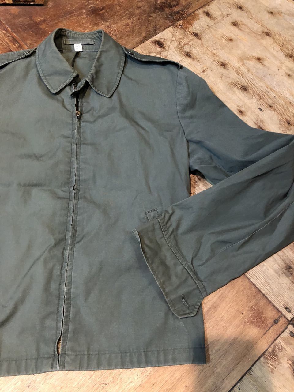 2月6日(木)入荷!60s BLAUER WEATHER RESISTANT JACKET !チンスト付き_c0144020_13202747.jpg