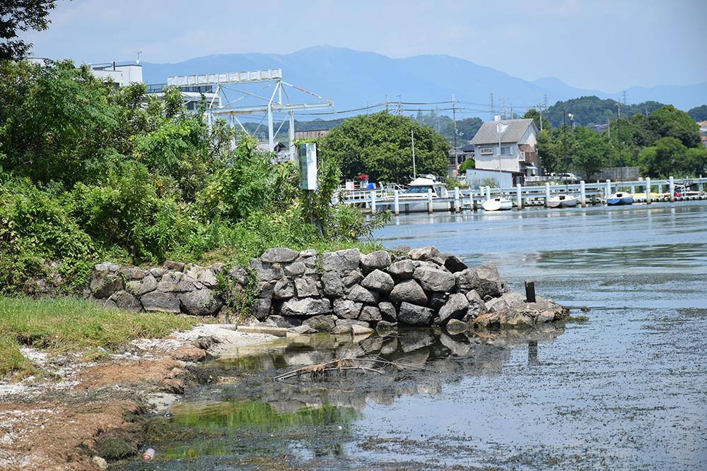 近江坂本城跡を歩く。 その2 <本丸跡>_e0158128_20462041.jpg