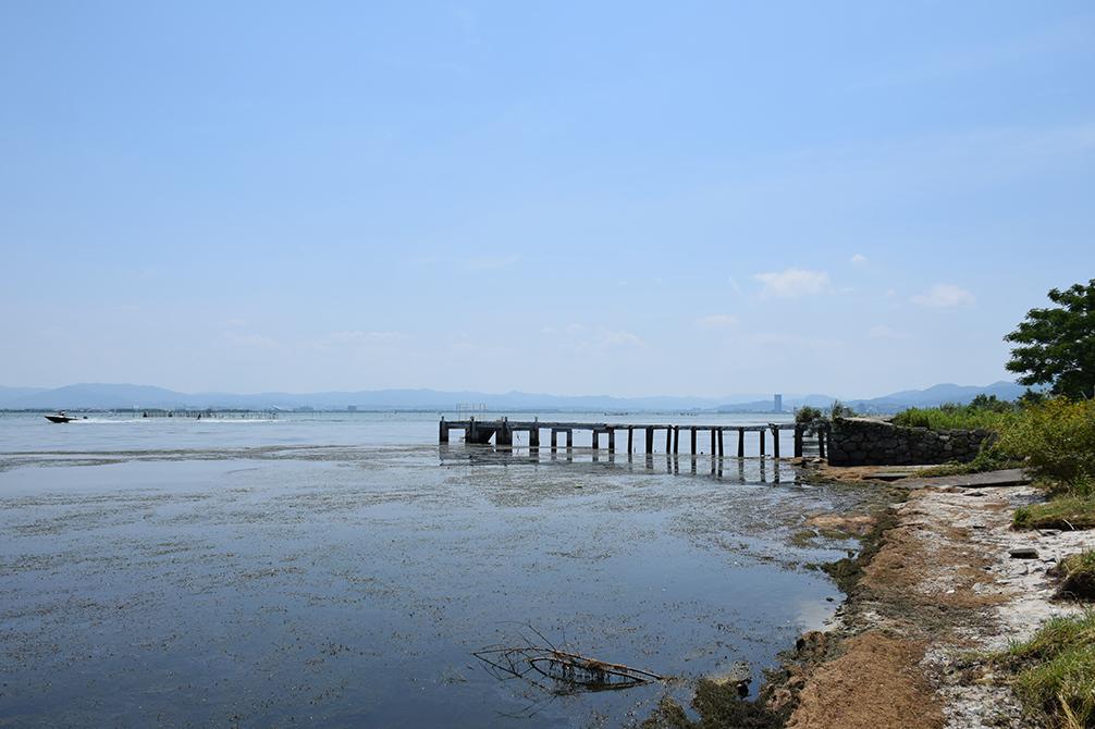 近江坂本城跡を歩く。 その2 <本丸跡>_e0158128_20534273.jpg