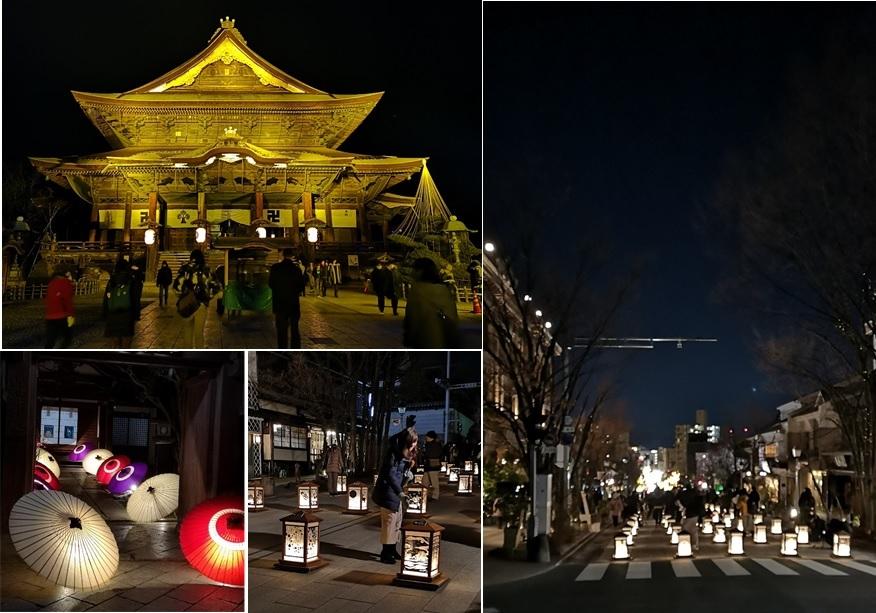 長野善光寺の夜_a0212730_23060454.jpg