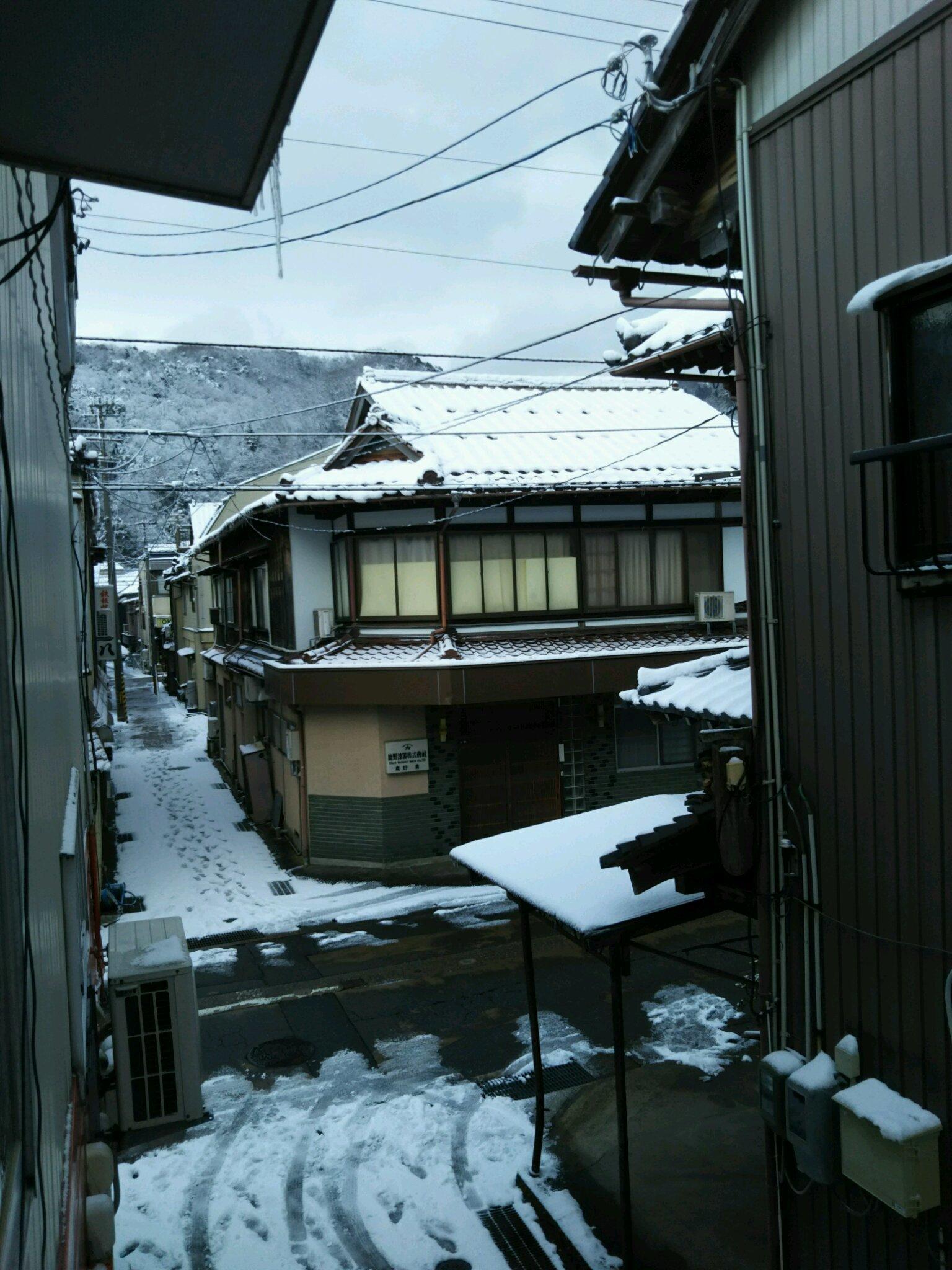 今冬初の積雪_f0040734_19424622.jpg