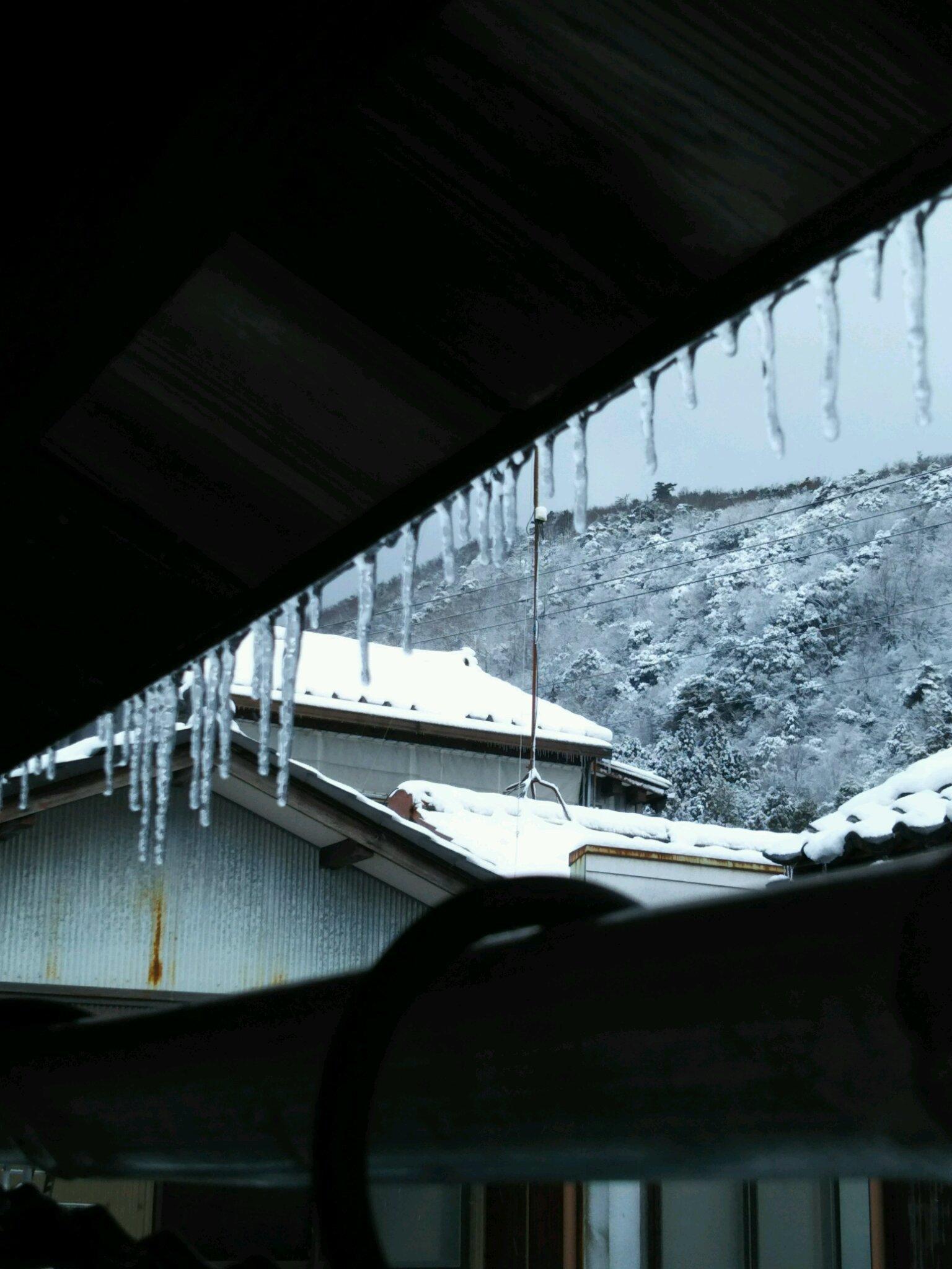 今冬初の積雪_f0040734_19424674.jpg