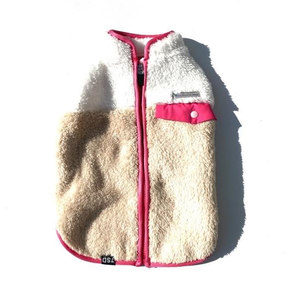 seven seas dog Multi fleece jacket セブンシーズドッグ マルチフリースジャケット_d0217958_18240202.jpeg