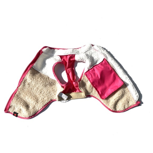 seven seas dog Multi fleece jacket セブンシーズドッグ マルチフリースジャケット_d0217958_18240307.jpeg