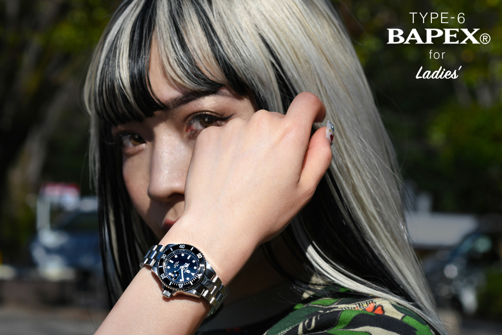TYPE 6 BAPEX® FOR LADIES_a0174495_12462763.jpg