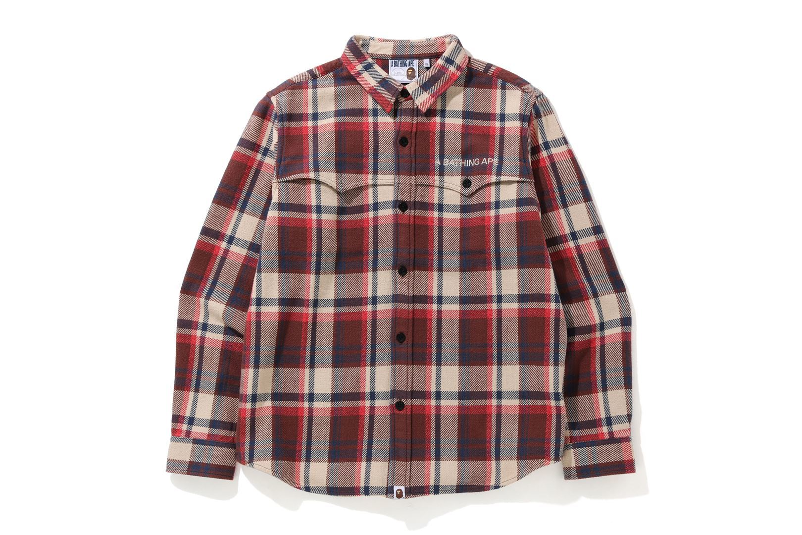 BAPE® CHECK FLANNEL SHIRT_a0174495_12560037.jpg