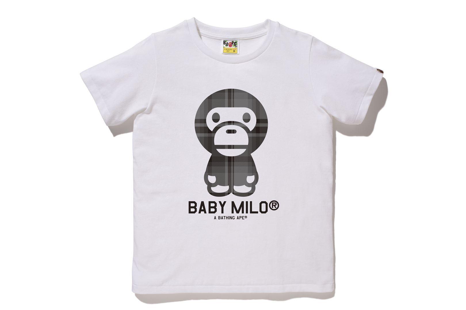 BAPE® CHECK BABY MILO® TEE_a0174495_13000677.jpg