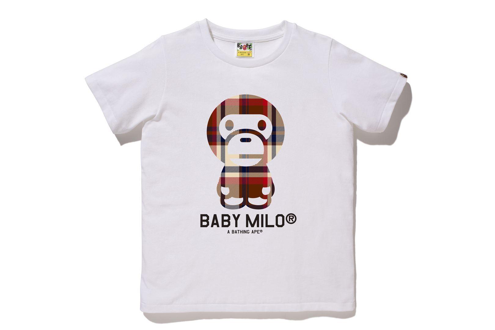 BAPE® CHECK BABY MILO® TEE_a0174495_13001345.jpg