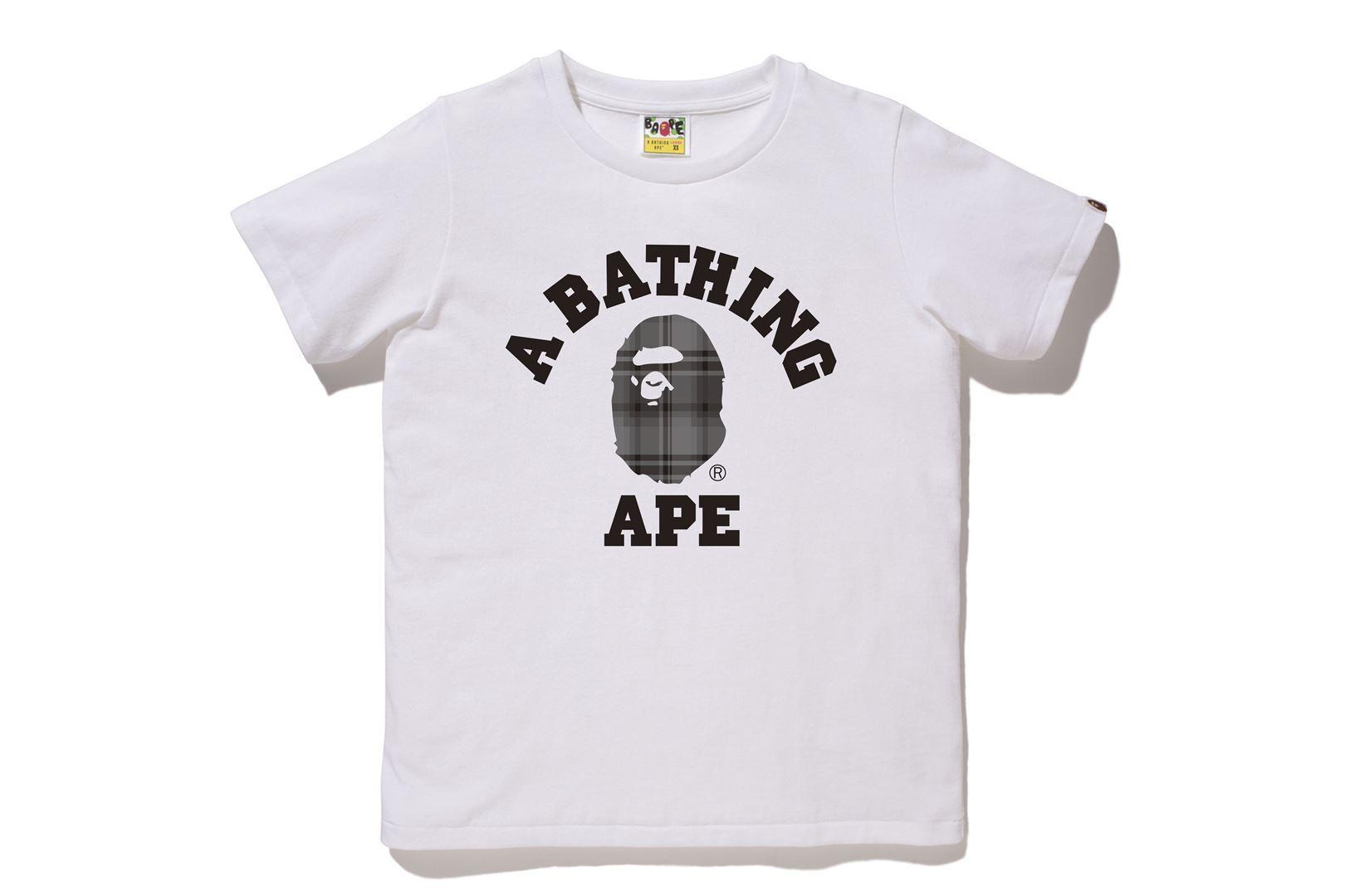 BAPE® CHECK COLLEGE TEE_a0174495_13043429.jpg