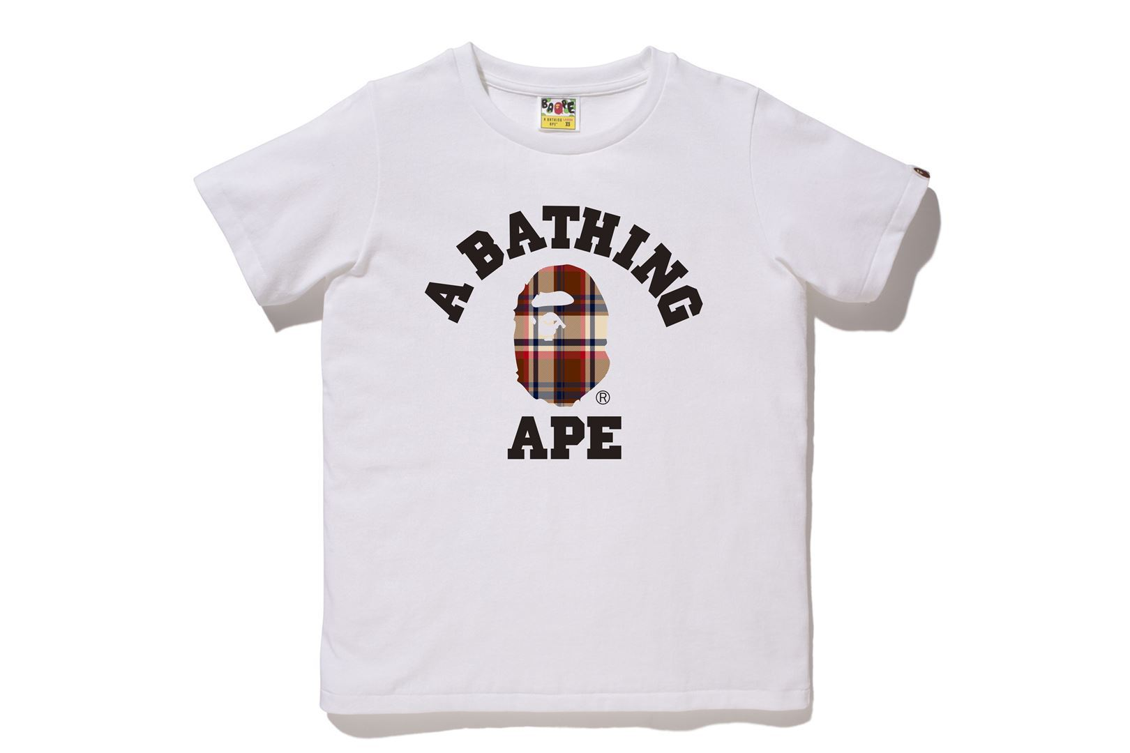 BAPE® CHECK COLLEGE TEE_a0174495_13044096.jpg