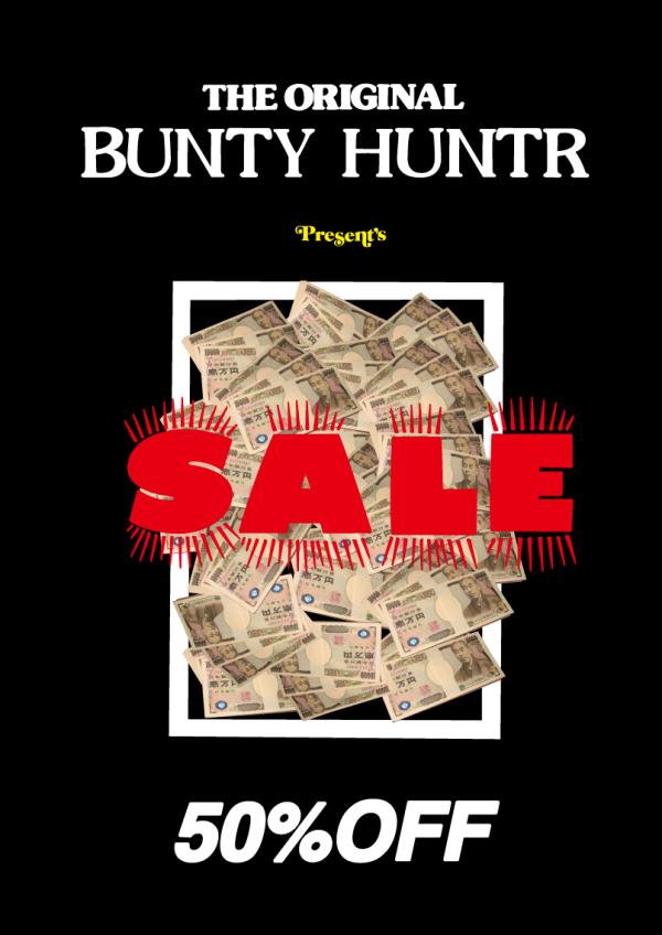 BOUNTY HUNTER 50%OFF SALE_b0132106_13390031.jpg