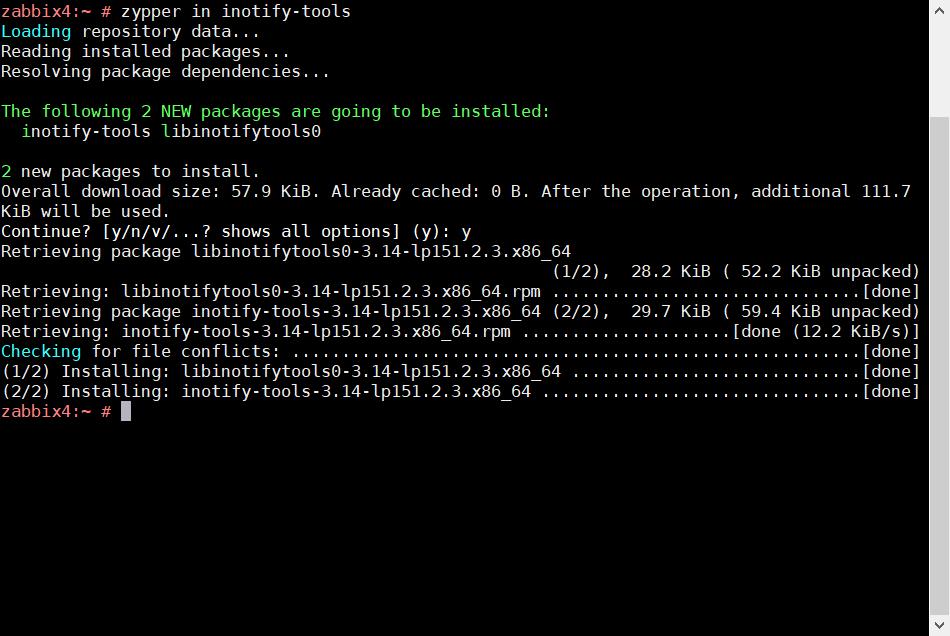 SUSE Linux でパッケージインストールの色々な方法_a0056607_12161153.png