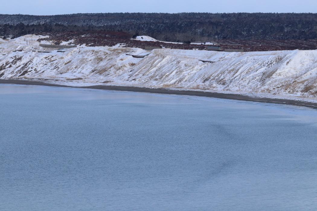 雪の海岸を走る気動車 - 2020年・根室線 -_b0190710_22214431.jpg