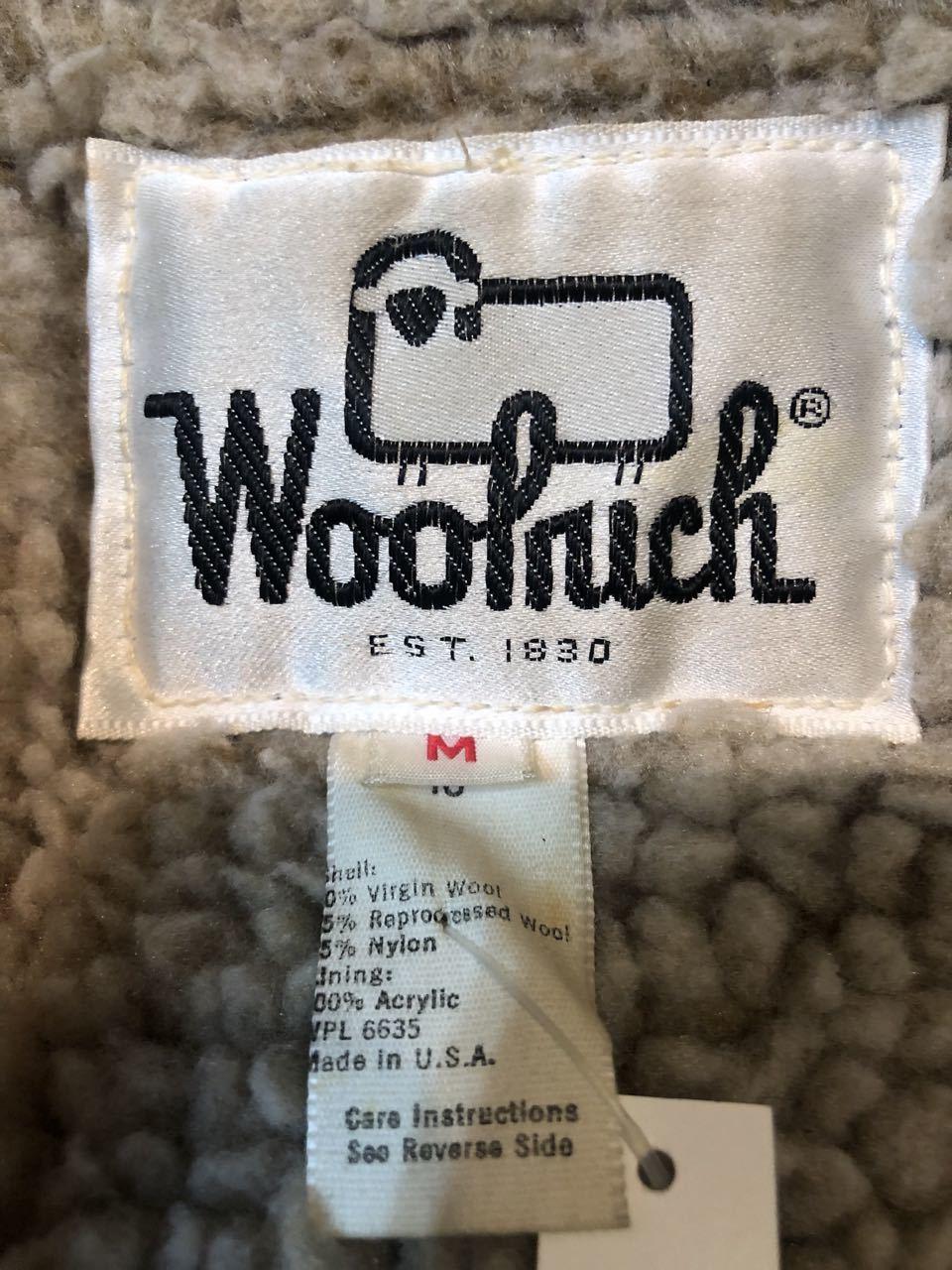 2月8日(土)入荷!70s~ MADE IN U.S.A  Woolrich VEST _c0144020_13103602.jpg