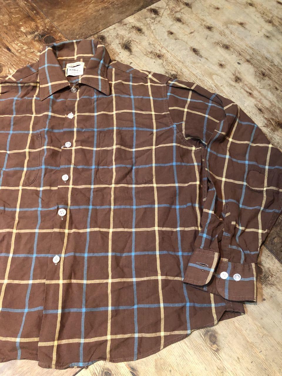 2月8日(土)入荷!60s Sears shirts! _c0144020_13124540.jpg