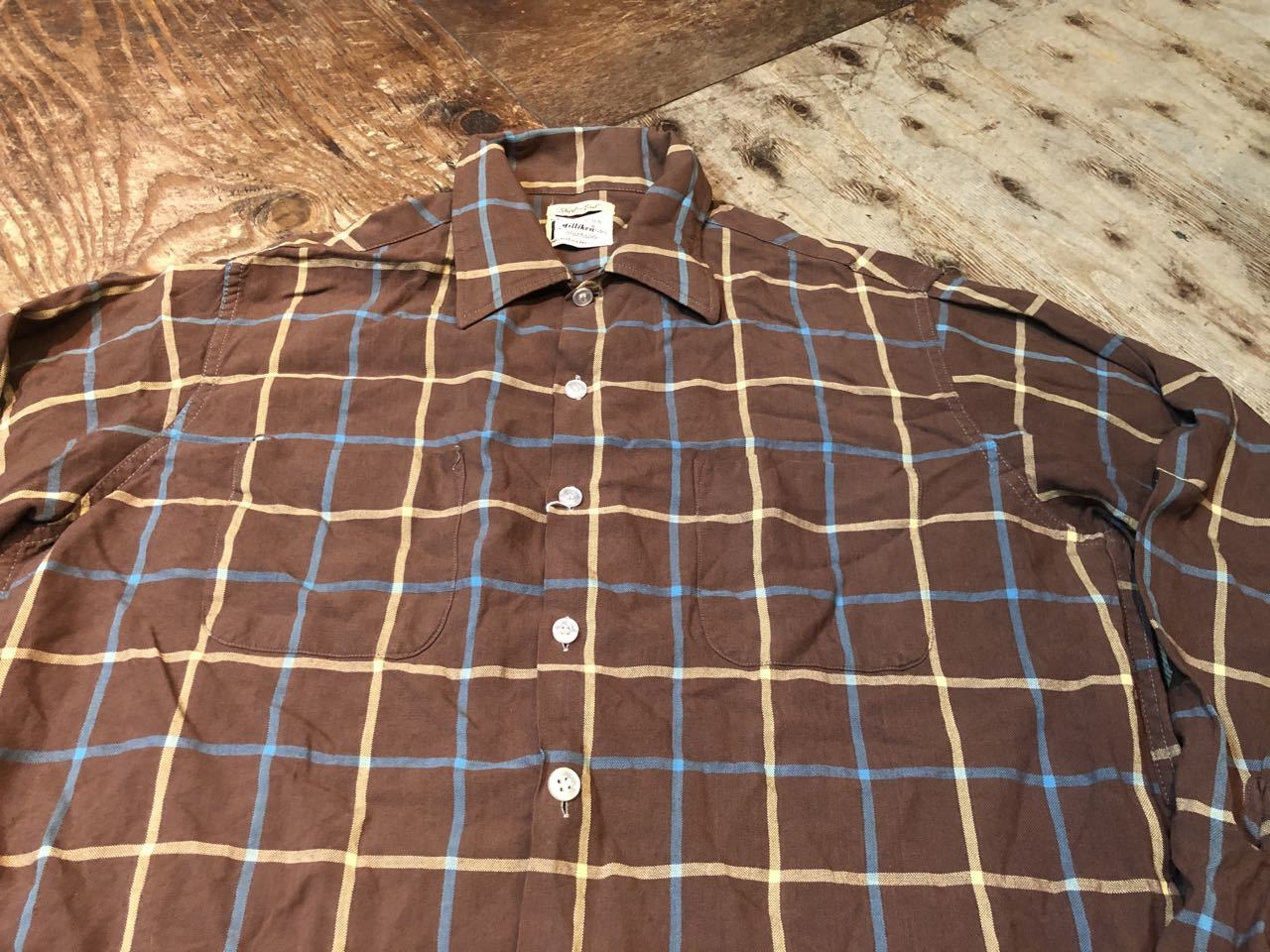 2月8日(土)入荷!60s Sears shirts! _c0144020_13124751.jpg
