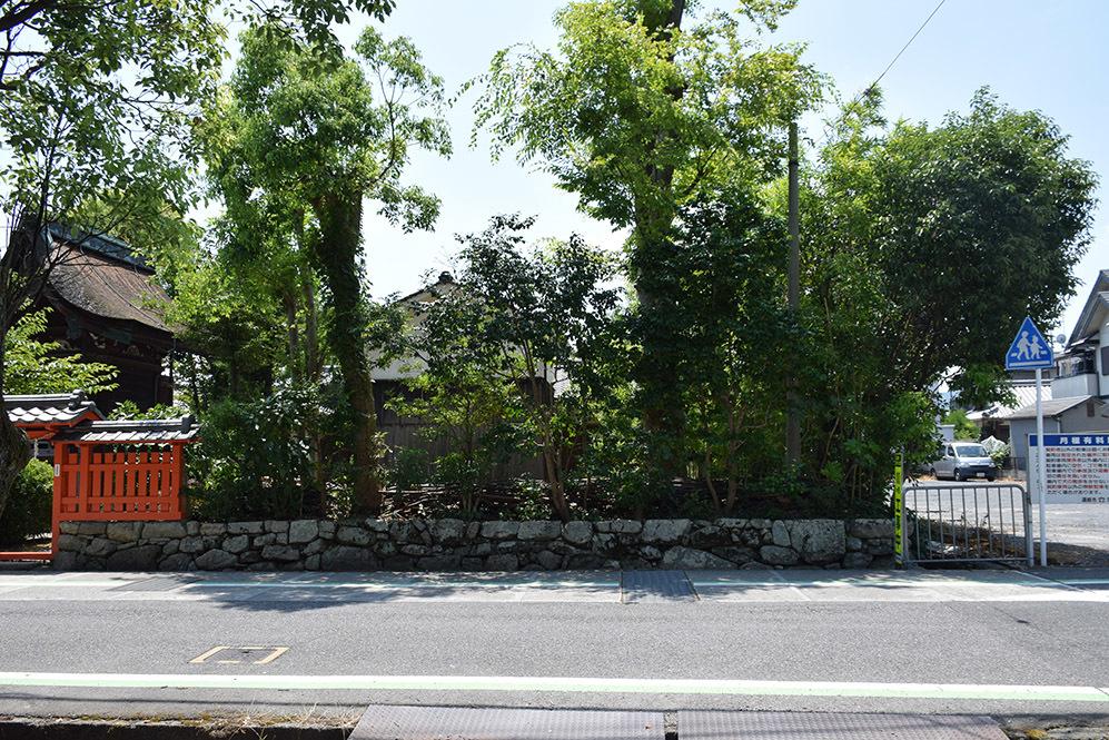 近江坂本城跡を歩く。 その3 <二ノ丸、三ノ丸>_e0158128_16241931.jpg