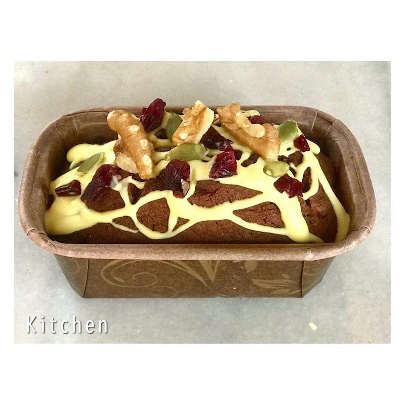 バレンタイン企画 Kitchenのチョコパウンドケーキ_a0155932_16495732.jpg