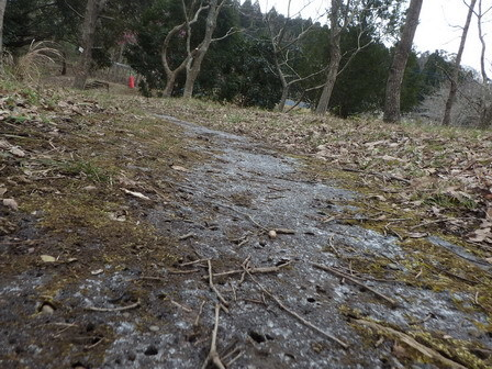 凍る道_a0123836_16502154.jpg