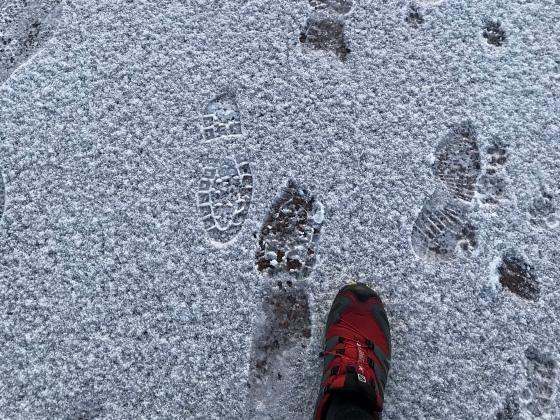 雪上ランニング_a0210340_08472975.jpg