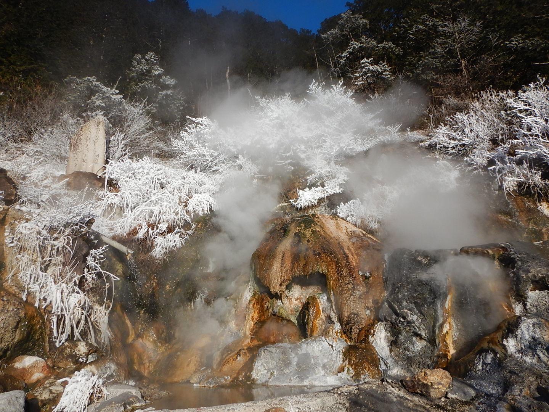 中房温泉の朝の気温は-7_f0219043_22552612.jpg