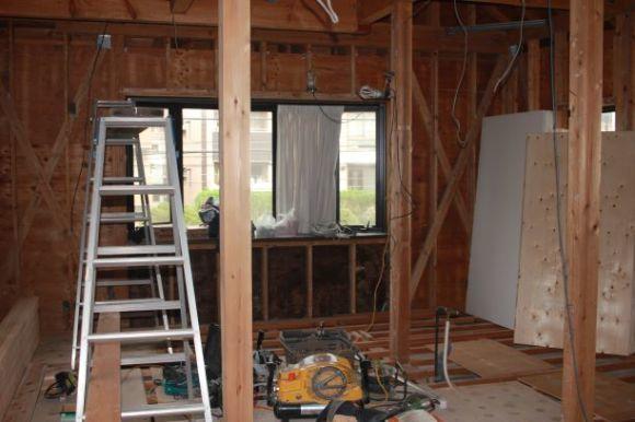 No6.自宅スペースをリフォーム・・・・ついに工事スタート、まずは解体_e0133255_18335484.jpg