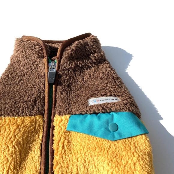 seven seas dog Multi fleece jacket セブンシーズドッグ マルチフリースジャケット_d0217958_15491840.jpeg