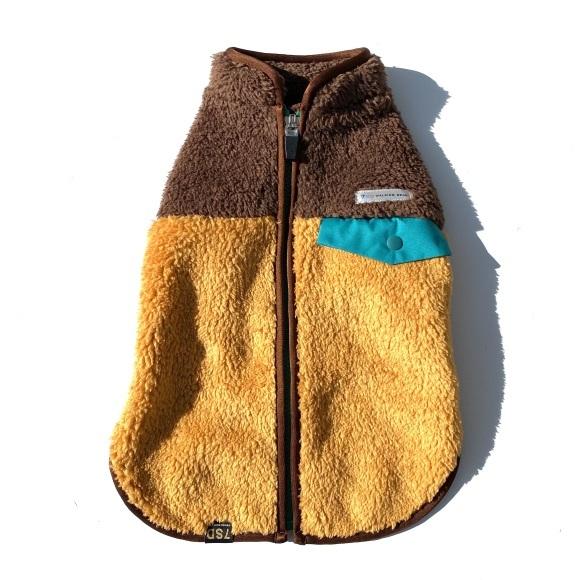 seven seas dog Multi fleece jacket セブンシーズドッグ マルチフリースジャケット_d0217958_15491946.jpeg