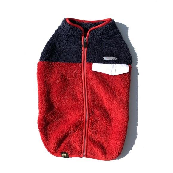 seven seas dog Multi fleece jacket セブンシーズドッグ マルチフリースジャケット_d0217958_16065946.jpeg